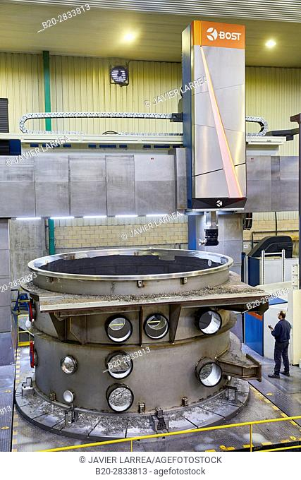 Vacuum Chamber Manufacturing, Machining Centre, CNC, Vertical lathe, Design, manufacture and installation of machine tools, Gipuzkoa, Basque Country, Spain