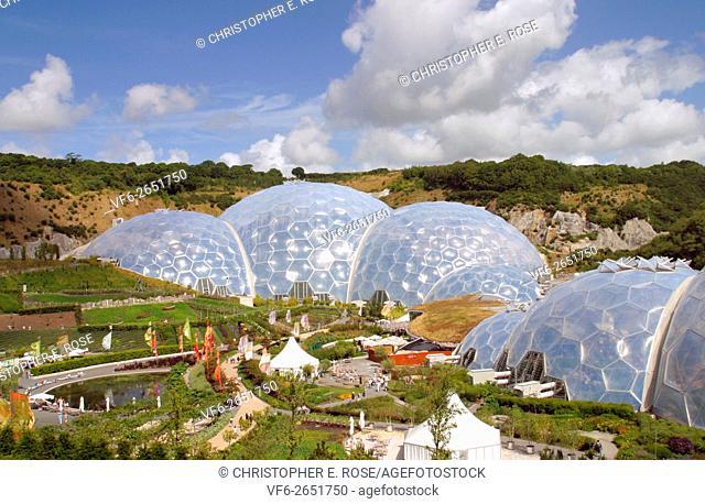 Eden Project, Cornwall, England, UK