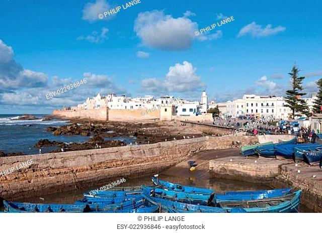 Coastline of Essaouira, Morocco, Africa