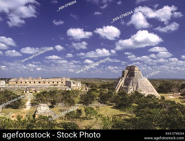 Uxmal is an ancient Maya city of the classical period in present-day Mexico. It is considered one of the most important archaeological sites of Maya culture