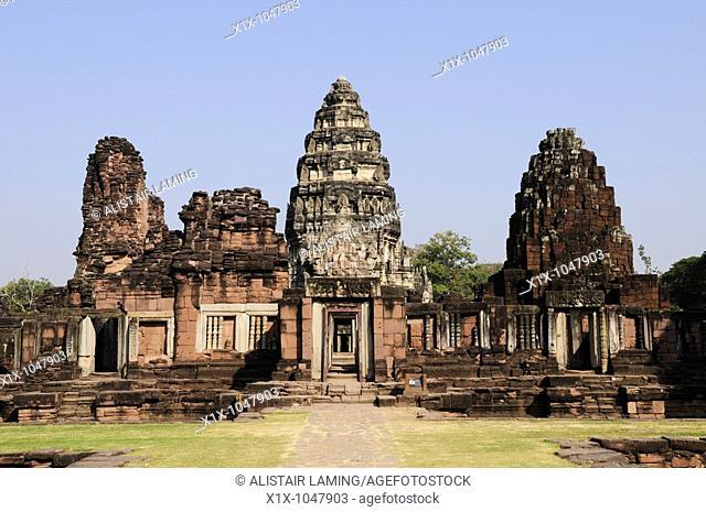 Prasat Phimai Temple, Phimai, Nakhon Ratchasima Province, Thailand, Asia