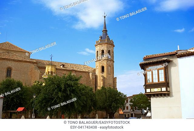 Tembleque in Toledo at Castile La Mancha on Saint james way
