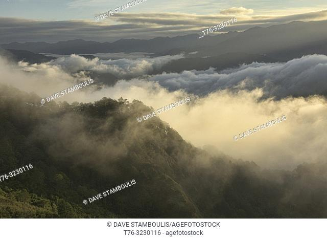 Sea of clouds below Kamanbaneng Peak (Marlboro Country), Sagada, Mountain Province, Philippines