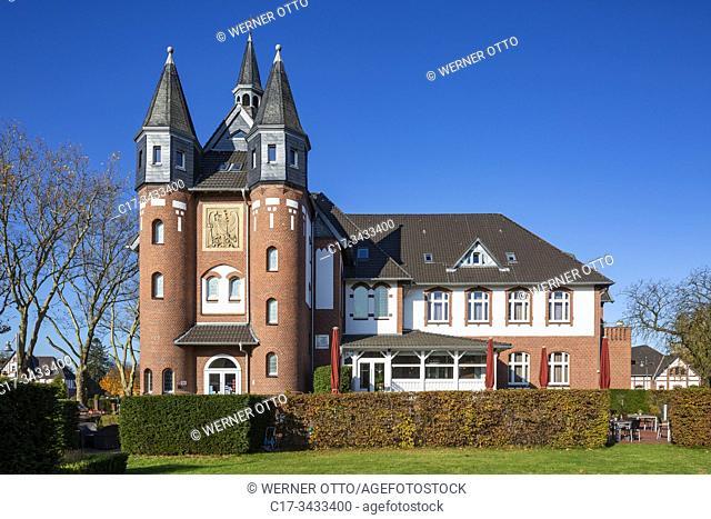Moenchengladbach, D-Moenchengladbach, Niers, Lower Rhine, Rhineland, North Rhine-Westphalia, NRW, Palace St George, hotel and restaurant, DEHOGA Academy