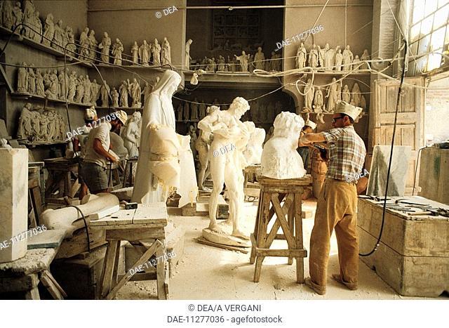 Italy - Tuscany Region - Pietrasanta - Marble - Sculpture laboratory