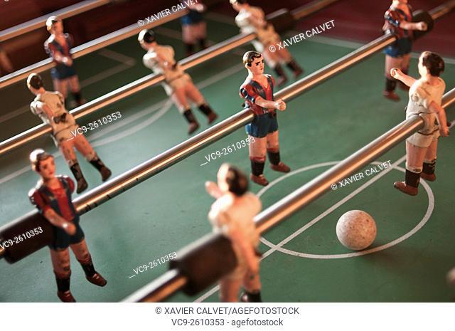 Table football players