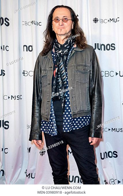 2018 JUNO Awards, held at the Rogers Arena in Vancouver, Canada. Featuring: Geddy Lee Where: Vancouver, British Columbia