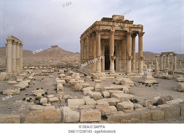 Syria - Palmyra (Tadmur). (UNESCO World Heritage Site, 1980). Temple of Baal Shamen