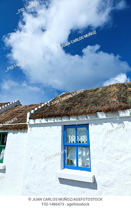 Kilmurvey Village  Inishmore Island, Aran Islands, Galway County, West Ireland, Europe