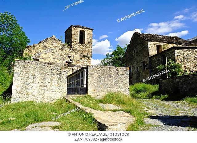 Escuaín  Comarca de Sobrarbe  Pirineos  Huesca