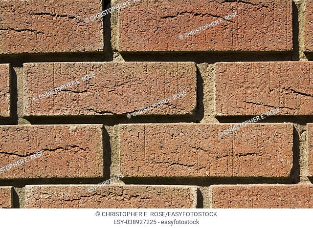 Brick wall full frame close up