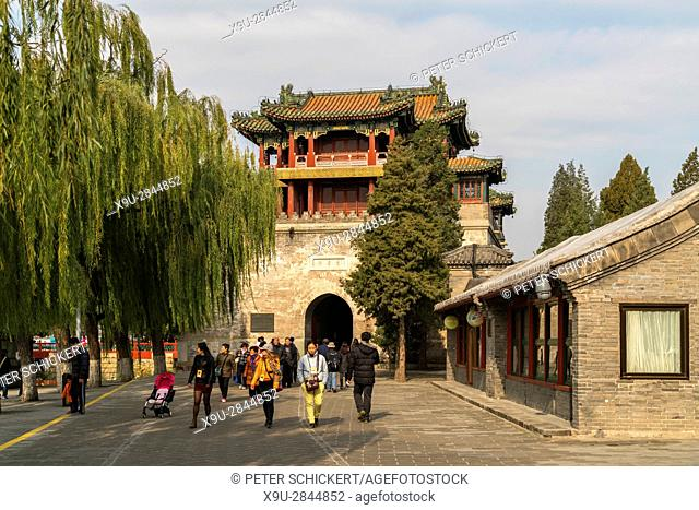 Wenchang Tower, Summer Palace, Beijing, People's Republic of China, Asia