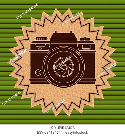 camera icons design, vector illustration eps10 graphic