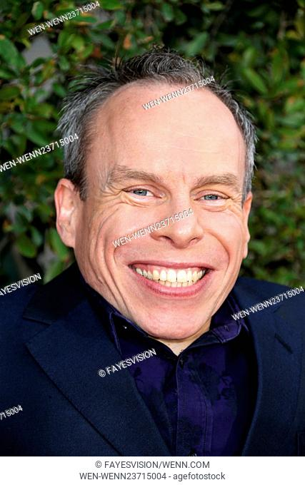 """Universal Studios Hollywood Hosts The Opening Of """"""""The Wizarding World Of Harry Potter"""""""" Featuring: Warwick Davis Where: Universal City, California"""