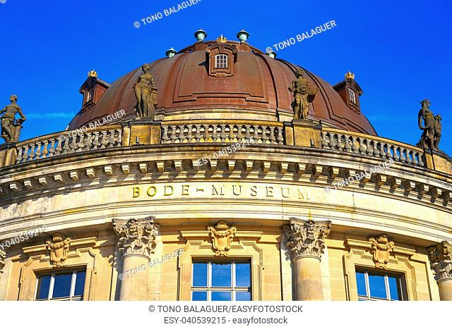 Berlin bode museum dome in Germany