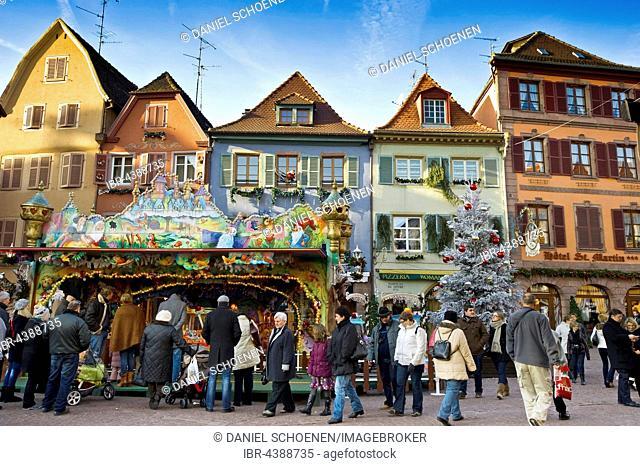 Christmas Market, Colmar, Alsace, France