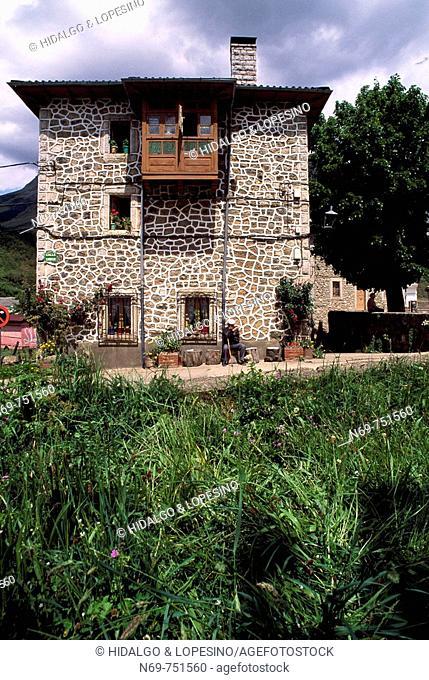 Posada de Valdeón. Leon. Parque Nacional Picos de Europa.Spain