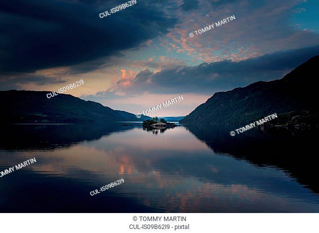 Ullswater sunset, The Lake District, UK