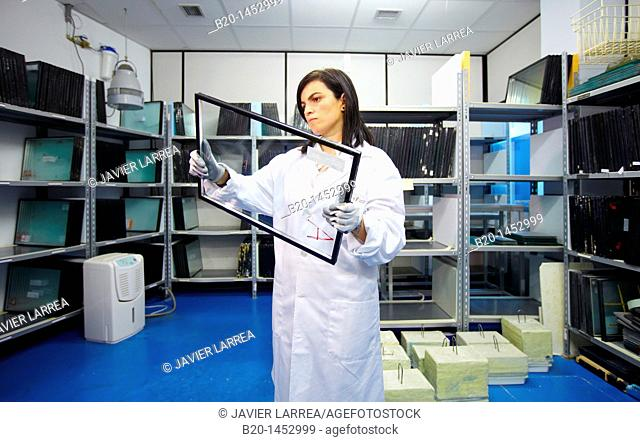 Glass laboratory, Technology Research Center, Tecnalia Construction, CIDEMCO-Tecnalia Research & Innovation, development of new products and innovative...