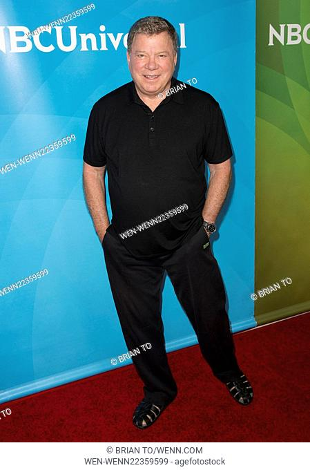 Celebrities attend 2015 NBCUniversal Summer Press Day at The Langham Huntington Hotel & Spa Featuring: William Shatner Where: Los Angeles, California
