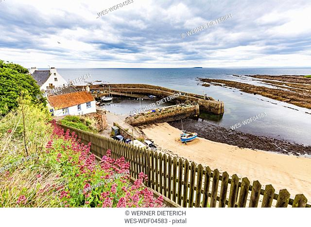 Scotland, Fife, Fishing haven of Crail