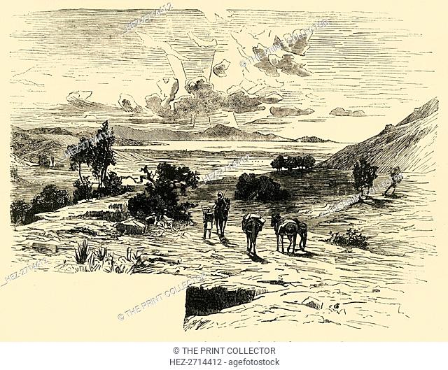 'Plain of Marathon', 1890. Creator: Unknown