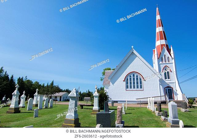 Canada Prince Edward Island, P. E. I. Victoria old church St John's Church or St John the Evangelist Anglican Church