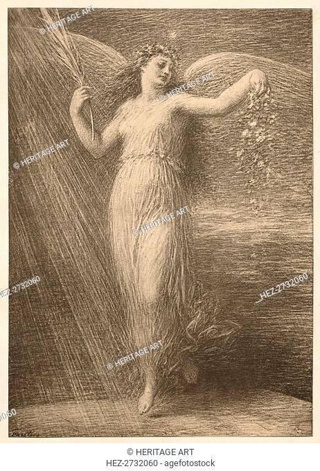 Immortalité, 1898. Creator: Henri Fantin-Latour (French, 1836-1904); Imprimerie Champenois
