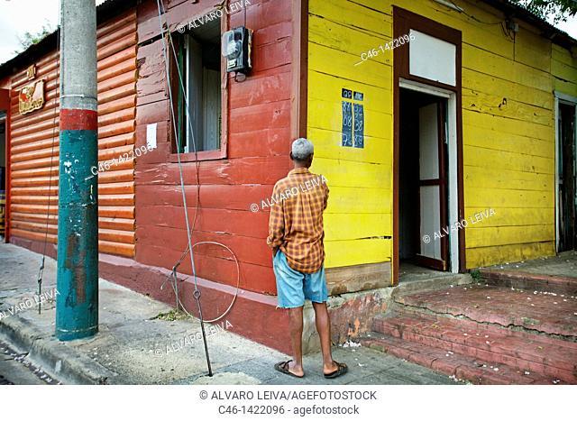 Street, Santo Domingo, Dominican Republic, West Indies, Caribbean