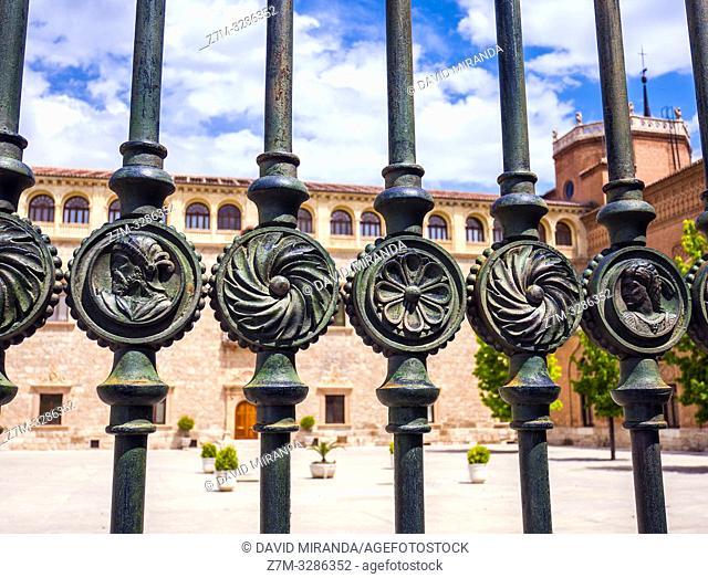 Palacio Arzobispal. Alcalá de Henares. Madrid. España