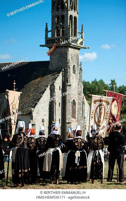 France, Finistere, Plonevez Porzay, the great Pardon of Ste Anne la Palud