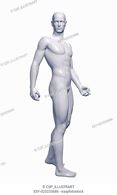 3d rendered illustration of a male