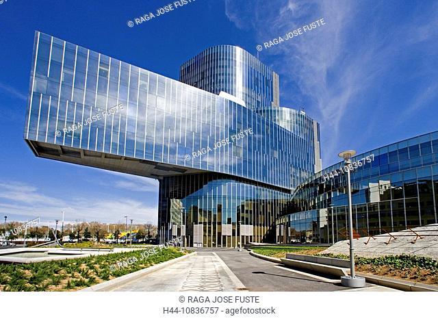 Spain, Europe, Barcelona City, Torre Mare Nostrum, building, Enric Miralles, Benedetta Tagliabue, architecture, modern
