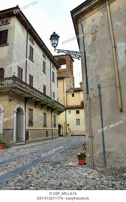 Alleyway. Travo. Emilia-Romagna. Italy