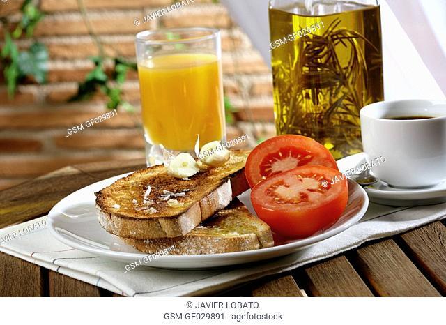 Mediterranean breakfast