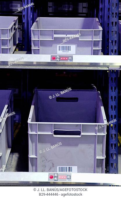 Boxes, logistics