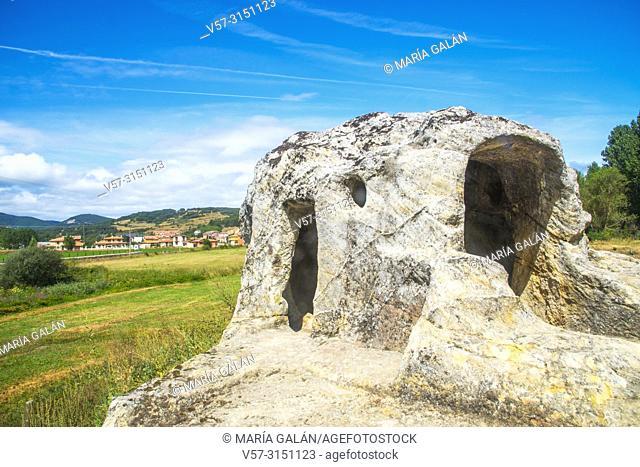 San Vicente cave church. Cervera de Pisuerga, Palencia province, Castilla Leon, Spain