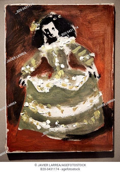 """Las Meninas (Isabel de Velasco)"", 1957, Pablo Picasso (1881-1973), Museu Picasso Museum, Barcelona, Catalonia, Spain"