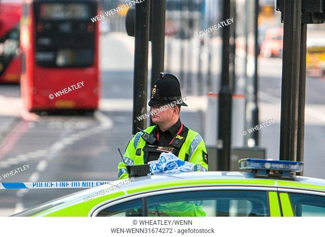 Scene of Terrorist Attack on London Bridge Featuring: Atmosphere, View Where: London, England, United Kingdom When: 04 Jun 2017 Credit: Wheatley/WENN