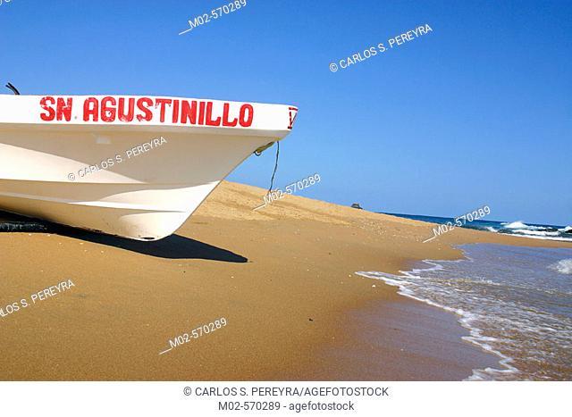 San Agustinillo beach, Oaxaca. Mexico