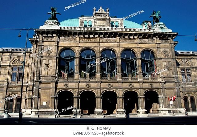 national opera of Vienna, Austria, Vienna, 1. district, Vienna - opera