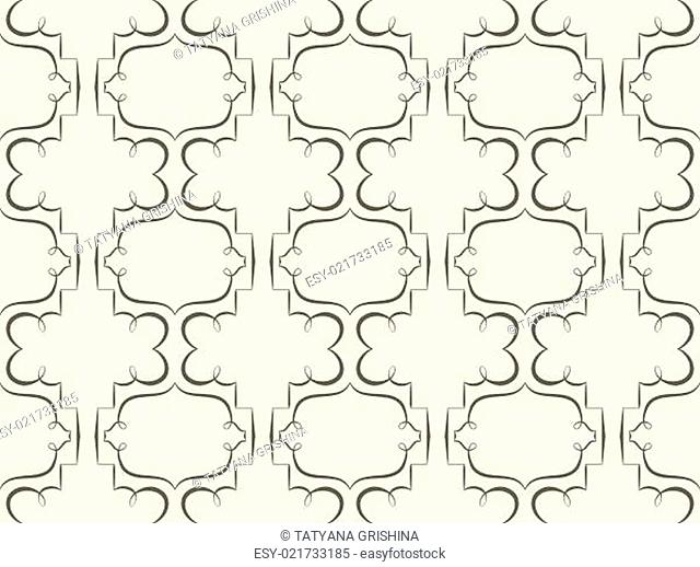 Vector seamless background. retro wallpaper with a repeating pattern