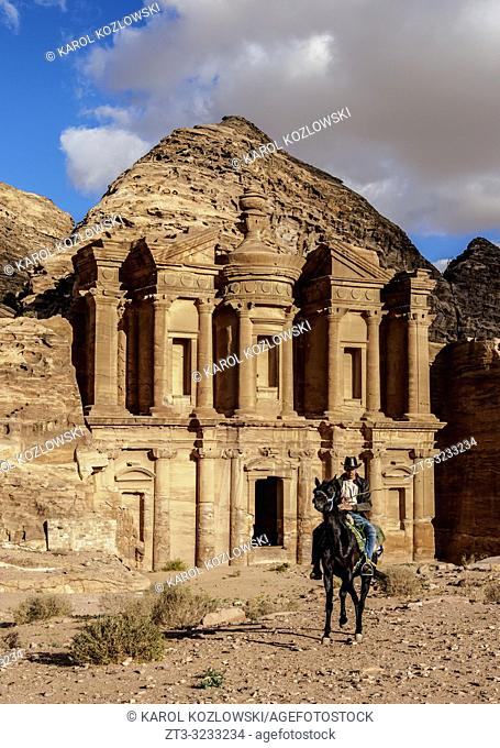 The Monastery, Ad-Deir, Petra, Ma'an Governorate, Jordan