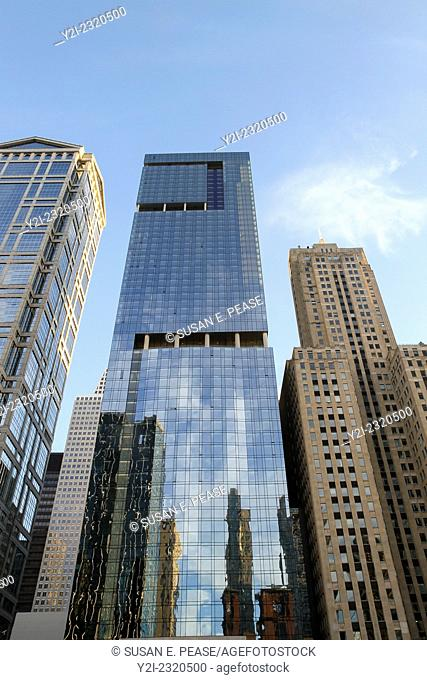 One Eleven, a skyscraper designed by Handel Architects and completed in 2014 in Chicago, Illinois, United States