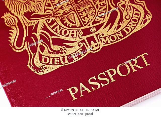 British Passport, Close Up