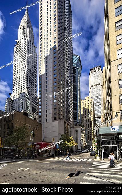 New York. Manhattan. The Chrysler Building
