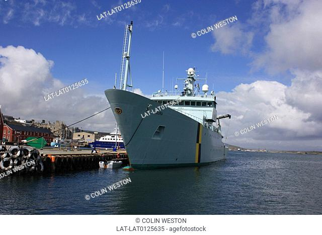Lerwick is the main port and city of the Shetland Islands. It is a busy fishing and ferry port. The harbour also services vessels supporting the offshore oil...