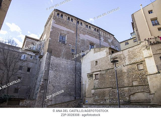 Tarazona de Aragon is a historic town in Aragon, Spain. Episcopal palace