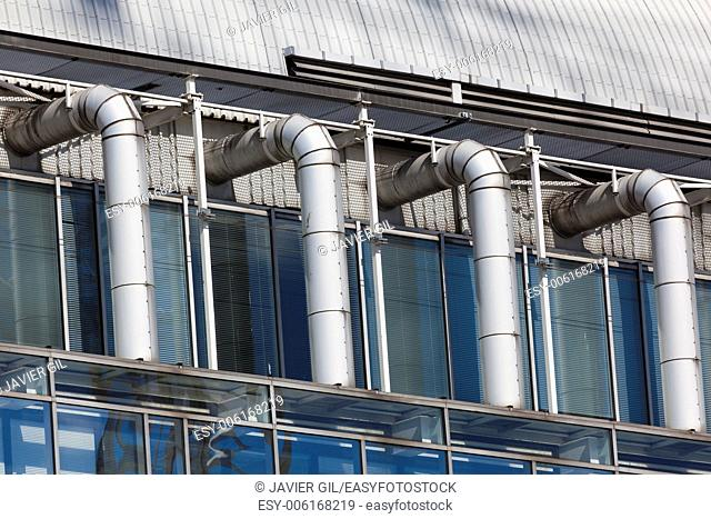 Detail of building, Brussels, Belgium