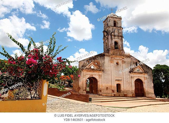 Old Church of the historic city of Trinidad, Cuba